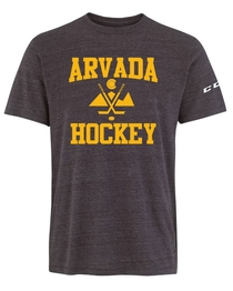 Arvada CCM Tri-Blend T Youth Crossed Sticks