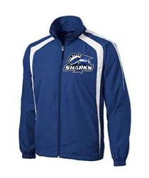 Long Beach Sharks Sport Tek Jacket