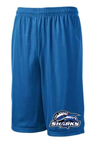 Long Beach Sharks Sport Tek Shorts