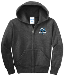 Long Beach Sharks PC78FZ Full Zip Hoody