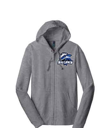 Long Beach Sharks DT100 Full Zip Hoody